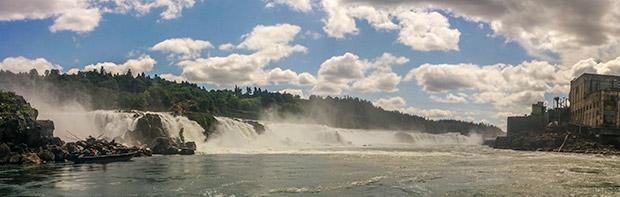 The Willamette Falls