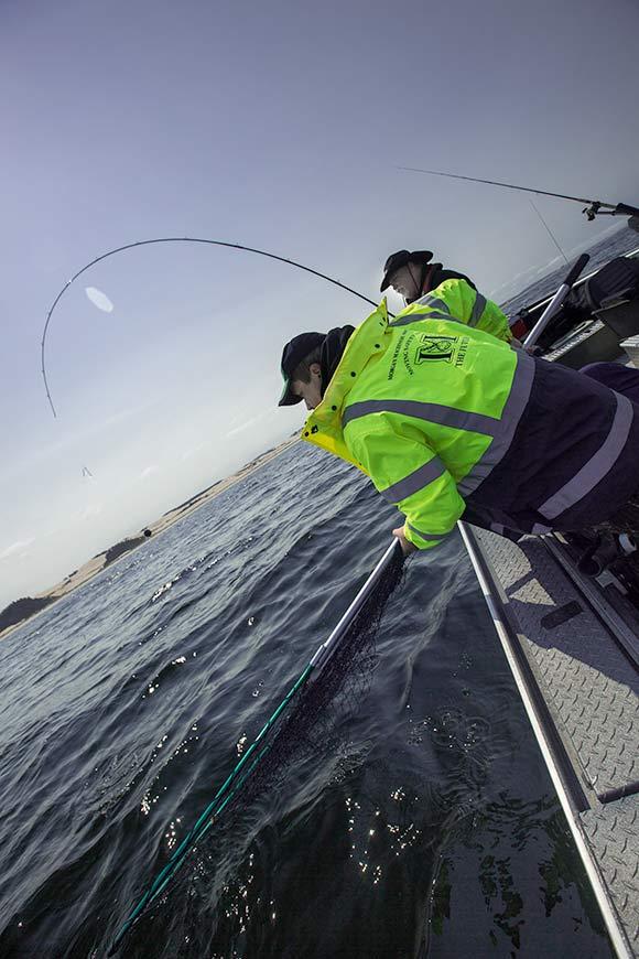 Fish on! Winchester Bay Salmon fishing outside the Umpqua River