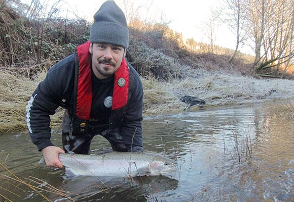 Nehalem winter steelhead lance fisher fishing for Nehalem river fishing