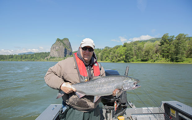 Columbia river to bonneville dam reopening to fishing for Columbia river salmon fishing