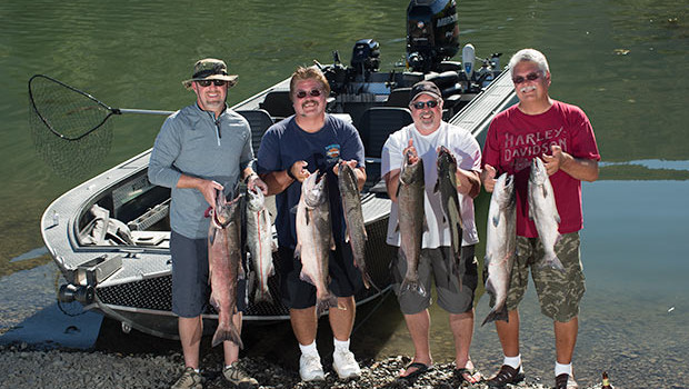 Charter fishing in portland oregon with fishing guide for Portland fishing guides