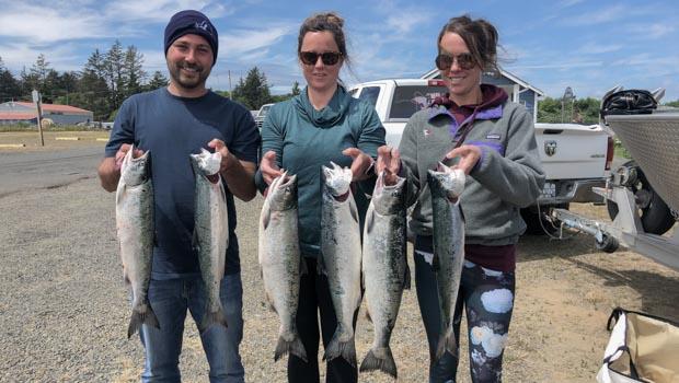 3 limits of coho salmon