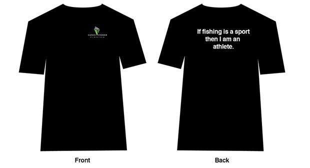 Lance Fisher Fishing T-shirt